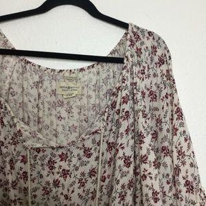 Denim & Supply Ralph Lauren Tops - Denim & Supply Ralph Lauren Floral Peasant Top L